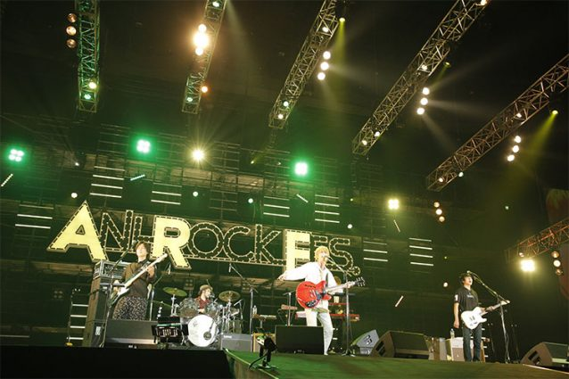『ANI-ROCK FES. 2018/ハイキュー!! 頂のLIVE 2018』NICO Touches the Wallsのステージ