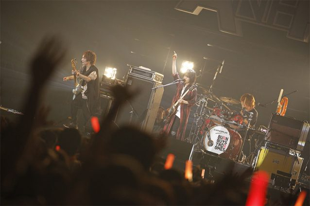 『ANI-ROCK FES. 2018/ハイキュー!! 頂のLIVE 2018』BURNOUT SYNDROMESのステージ